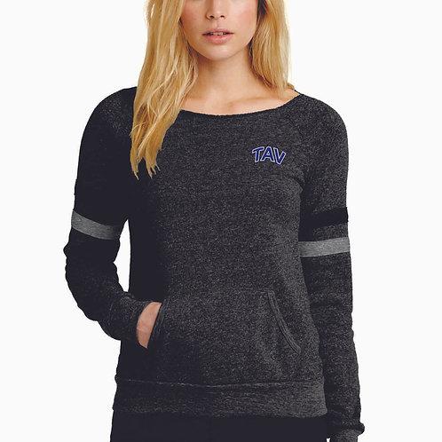 TAV Logo - Alternative Women's Maniac Sport Eco™-Fleece Sweatshirt