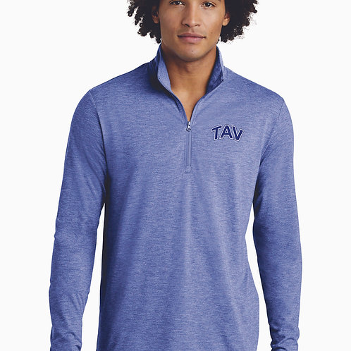 EMBROIDERED - Sport-Tek ® PosiCharge ® Tri-Blend Wicking 1/4-Zip Pullover