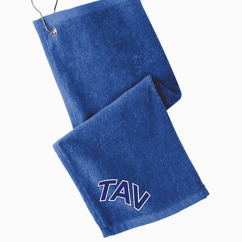 TAV Logo - Port Authority ® Grommeted Hemmed Towel