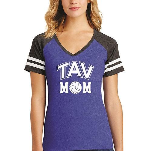 TAV MOM - District ® Women's Game V-Neck Tee