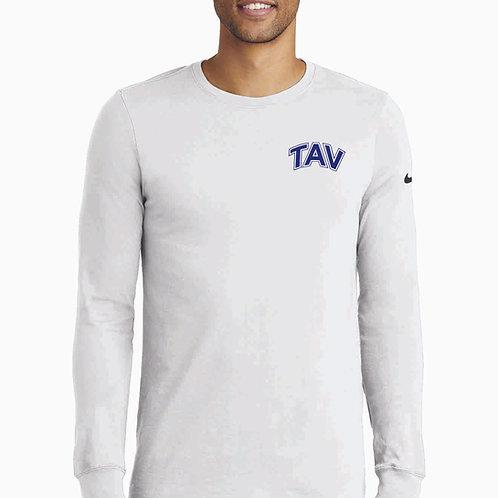 TAV Logo - Nike Dri-FIT Cotton/Poly Long Sleeve Tee