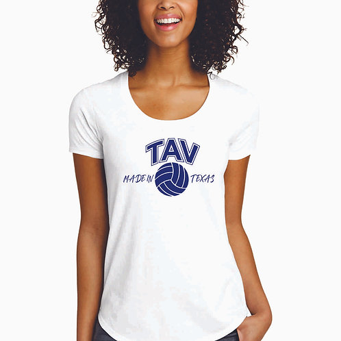 MADE IN TEXAS - District ® Women's Fitted Very Important Tee ® Scoop