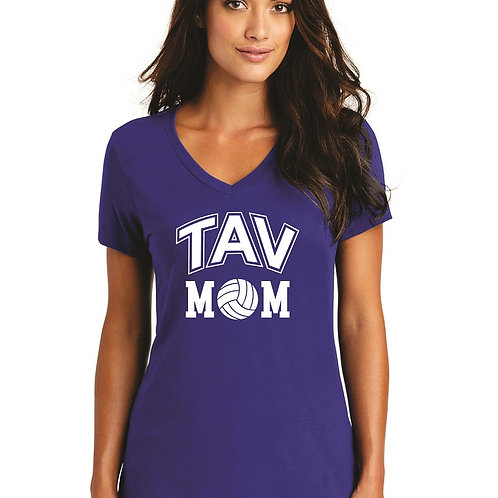 TAV MOM - District ® Women's Perfect Weight ® V-Neck Tee