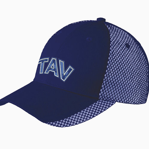 EMBROIDERED - Port Authority® Two-Color Mesh Back Cap