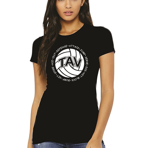 Volleyball Sayings - BELLA+CANVAS ® Women's The Favorite Tee