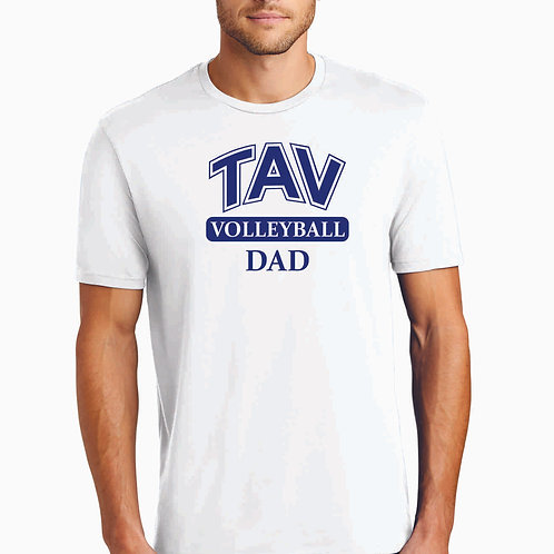 TAV VOLLEYBALL DAD - District ® Perfect Weight ® Tee
