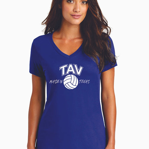 MADE IN TEXAS - District ® Women's Perfect Weight ® V-Neck Tee