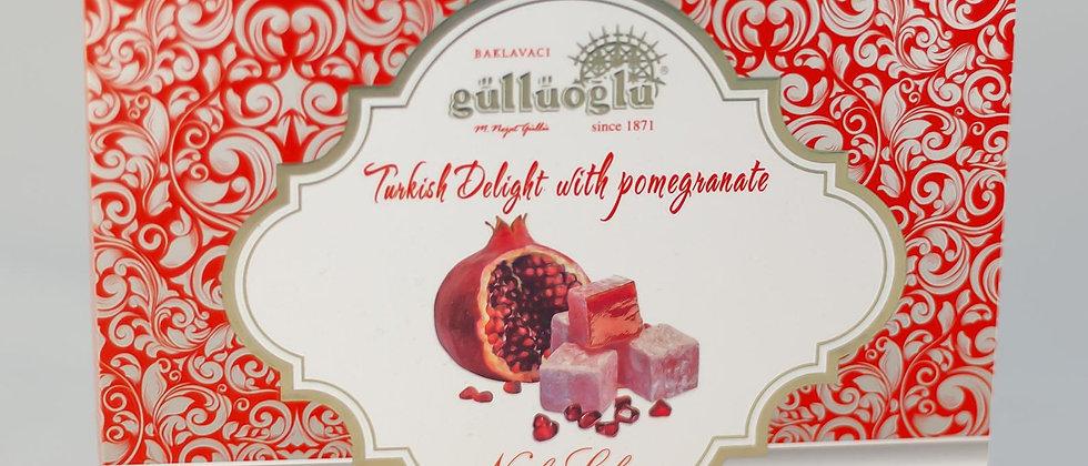 Gulluoglu Pomegranate Turkish Delight 400 gr (14.11 oz )