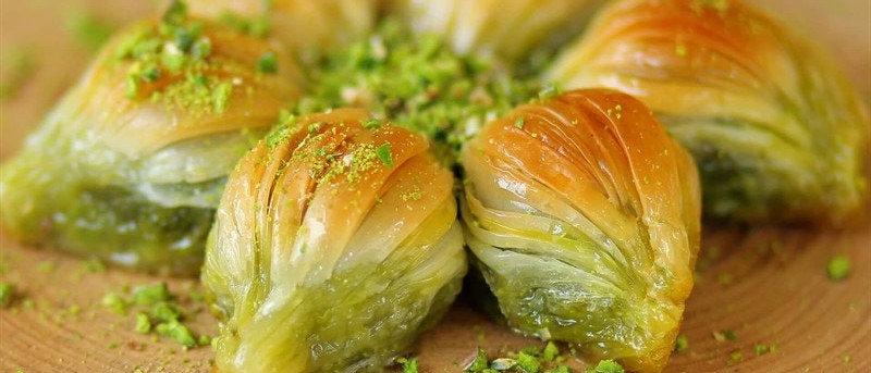 Mussel Shape Baklava