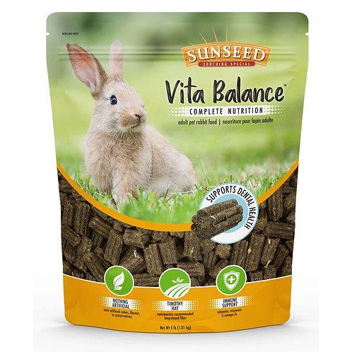 Sunseed Vita Balance Complete Nutrition Adult pet rabbit food