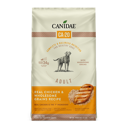 Canidae CA-20 Real Chicken Recipe with Wholesome Grains Dog