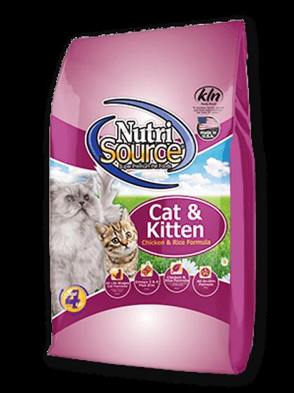 Nutri Source Cat & Kitten Chicken & Rice Formula