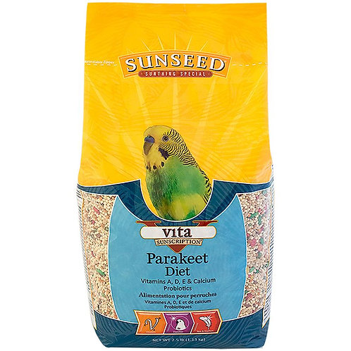 Sunseed Vita Prima Wholesome Nutrition Parakeet Food