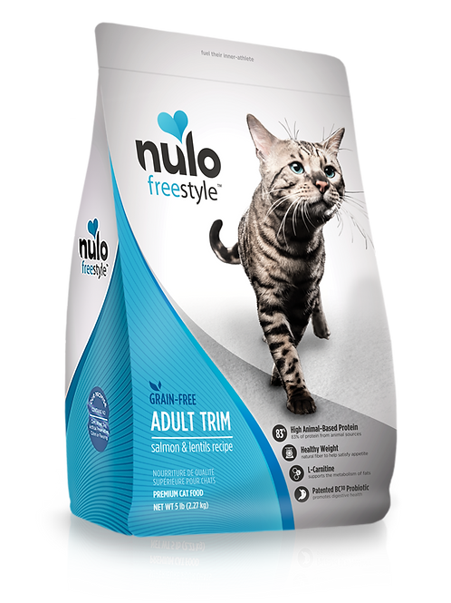 Nulo Freestyle High-Meat Kibble Trim Salmon & Lentils Recipe