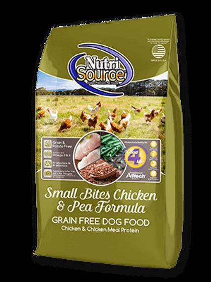 NutriSource Small Bites Chicken Grain Free Dog Food
