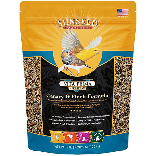 Sunseed Vita Prima Canary & Finch Formula