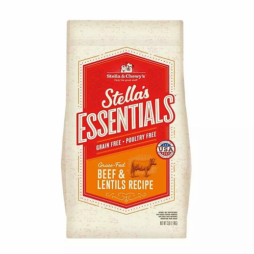 Stella & Chewy's Essentials: Grain Free High Plains Red Recipe with Beef