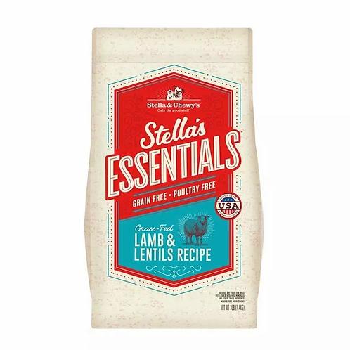 Stella & Chewy's Essentials: Grain Free Grass-Fed Lamb & Lentils