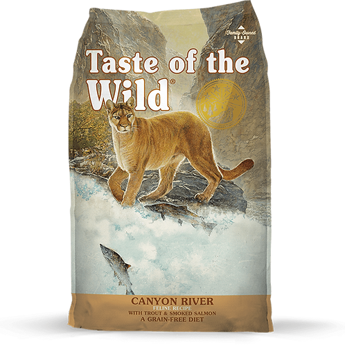 Taste of the Wild Canyon River with Trout Smoked Salmon