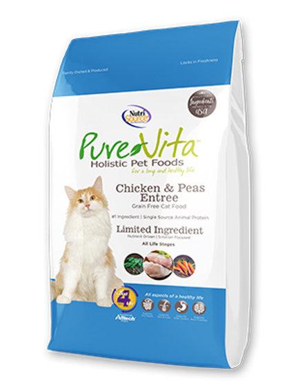 NutriSource Pure Vita Grain Free Chicken & Peas Entr?e