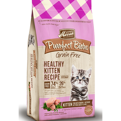 Merrick Grain Free Healthy Kitten Recipe