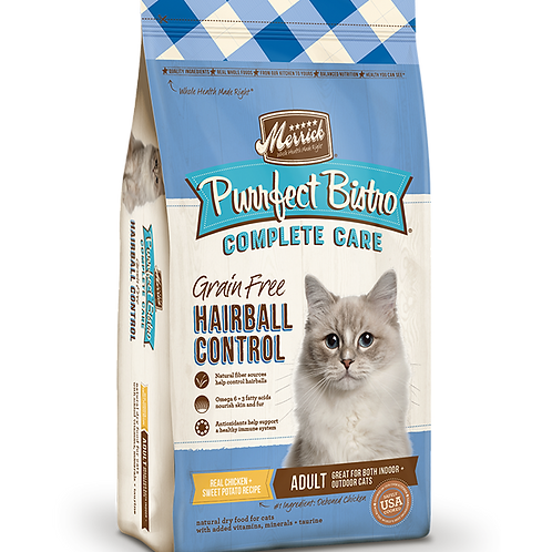Merrick Complete Care Hairball Control