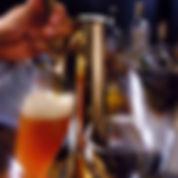 タップでビール