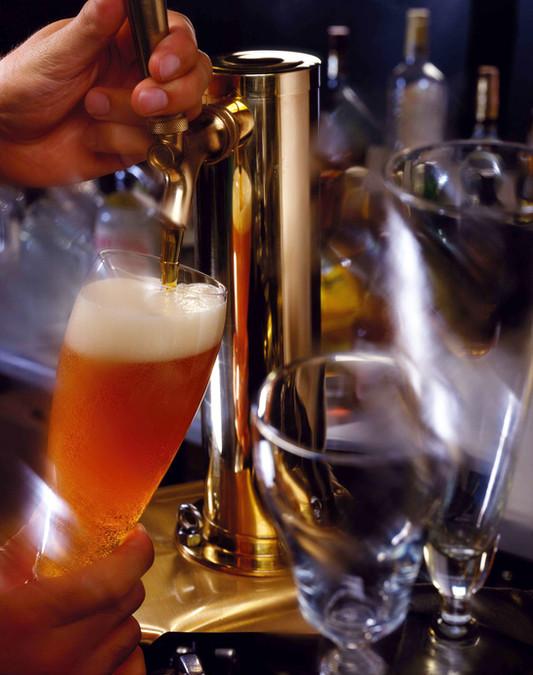 Cerveja na torneira