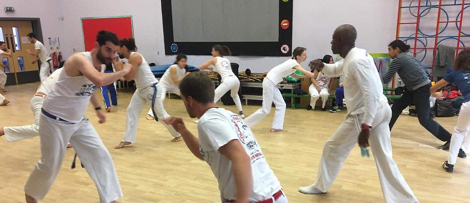 Training Capoeira