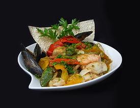 Seafood Curry, Gabrieaus. Antigonish, No
