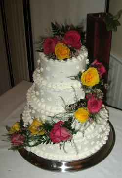 Tradition Wedding Cake