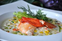 Gabrieau's Corn Chowder With Lobster