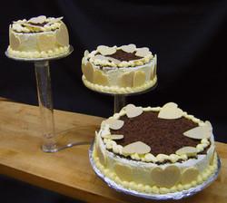 Tri-Cake Chocolate Lemon