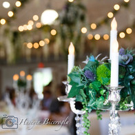 Candelabra with crystals & flowers.jpg