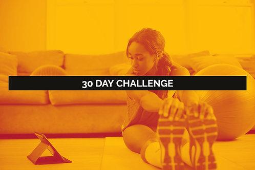 30 Day Plyometrics Challenge-Live Online