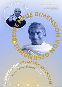 Elebnisabend neue Dimension Gesundheit Master Sai Pranic Healing Prana Heilung Südscharzwald Energie spirituelle Weiterentwicklung  Master Choa Kok Sui