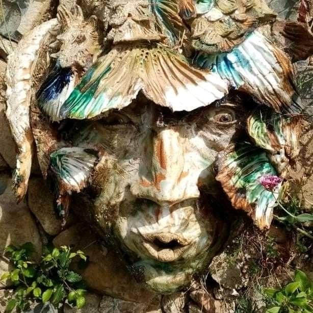 Sculpture garden Sylvains' seahead (2)