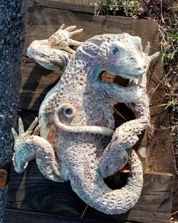 Sculpture garden Sylvains'lizard