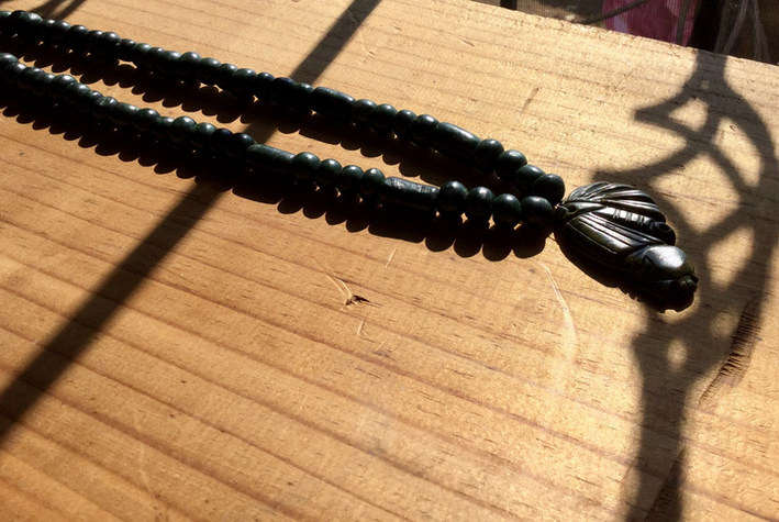 jade guatemala necklace pearls and maya