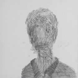 이해민선, CAST : 나오는 사람_가로수 프로타주, 40x40cm, 종이 위에 연필, 2017