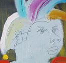 임국, 르네상스배우, 2008, Oil on canvas, 26x18cm