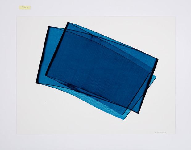 김인겸, Space_Less 2015 L 09-02, Acrylic ink on paper, 79x109cm, 2015