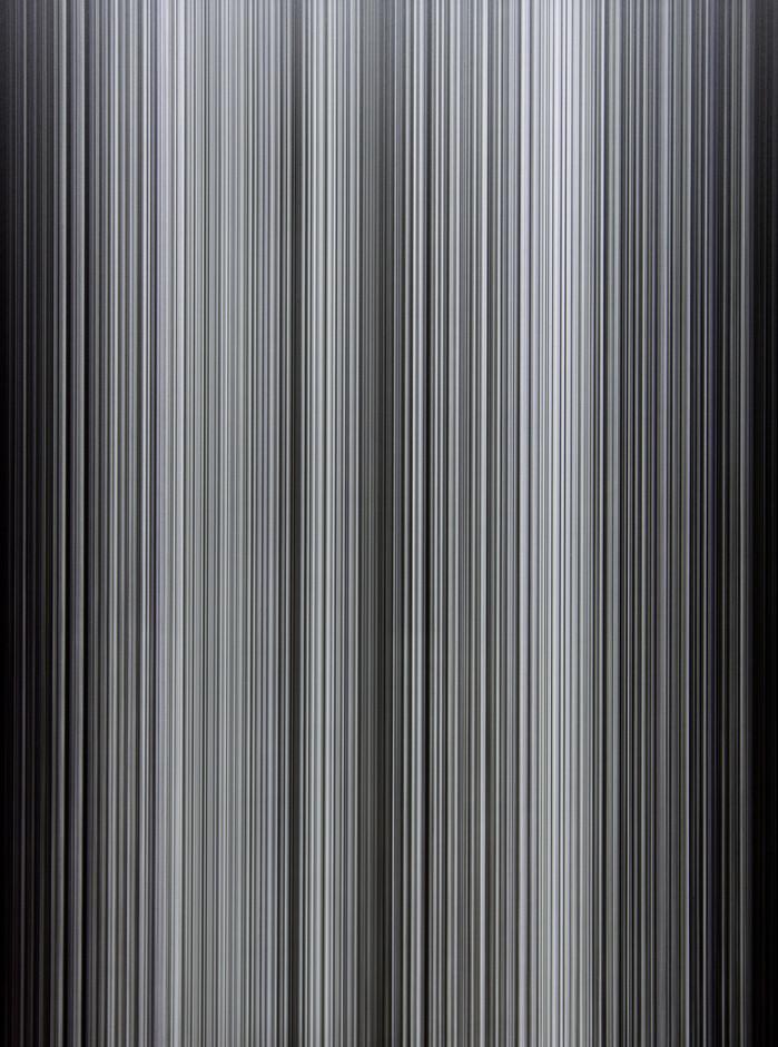 윤상렬, 침묵 Silence M(C-4), Sharp pencil on paper, digital printing on acrylic, 122x92cm, 2017