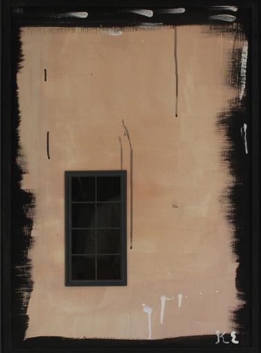 김을, Beyond the painting, Mixed media, 69x51cm, 2013