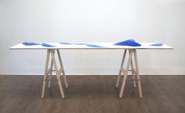 김윤수, The Blest Scene, installation view, 2015