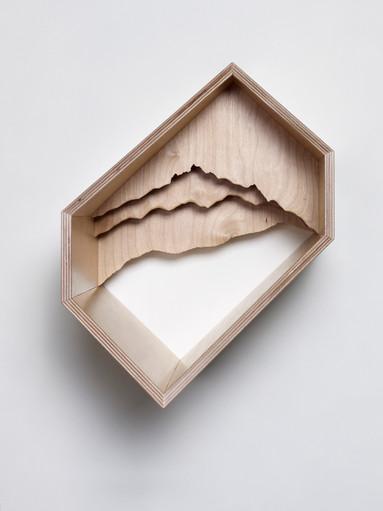 정승운, SL OA008, Birch  plywood, 31x22x36cm, 2013