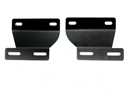 Chevrolet Silverado (03-07; Cateye): Dual LED Pod Fog Light Bracket