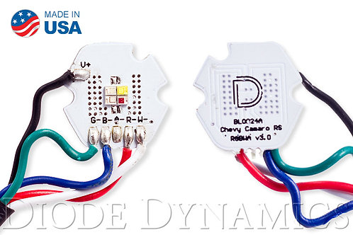 Camaro RS 2010 RGBW LED Boards Diode Dynamics