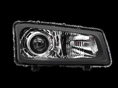 Chevy Silverado (Cateye; 03-07): Custom Headlights Single HID Projector Retrofit