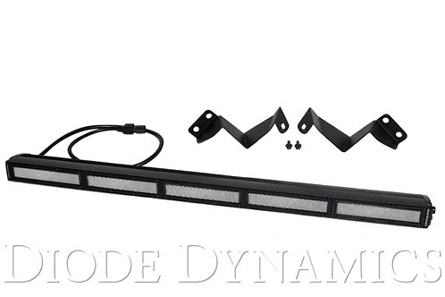 Tacoma 30 Inch LED Light Bar Kit 16-19 Tacoma Stealth Clear Flood Diode Dynamics